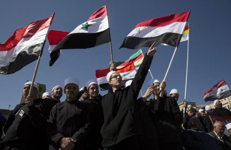 raydan_druzedivided_syriaflag